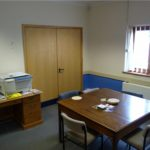 The Committee room at Parklands Community Centre, Northampton