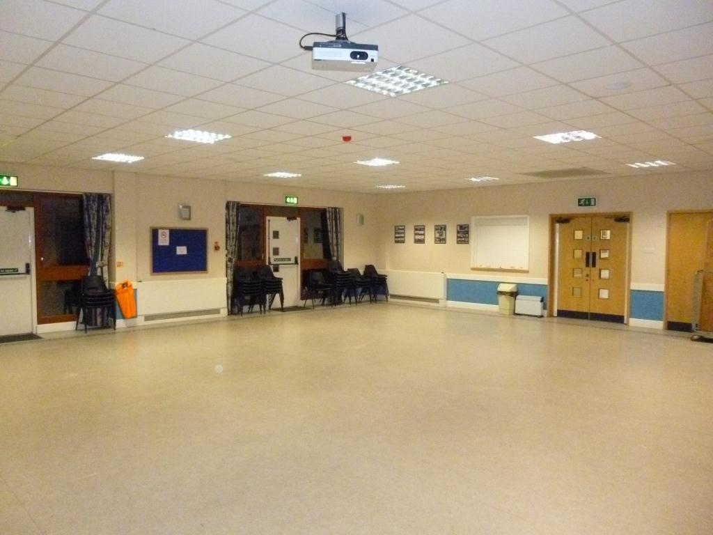 The Main Room, Parklands Community Centre, Northampton