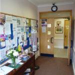 The entance hall, Parklands Community Centre, Northampton