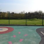 Play area outside, Parklands Community Centre, Northampton